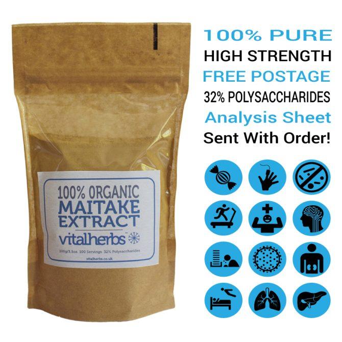 Organic Maitake Extract Powder